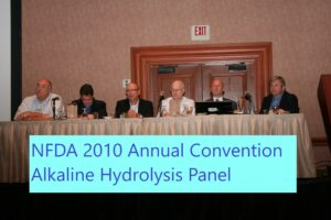 NFDA 2010 alkaline hydrolysis panel. Ed 2nd from right.